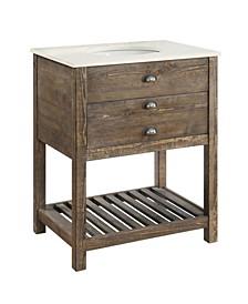 1 Drawer Single Vanity Sink