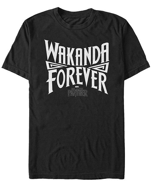 Marvel Men's Black Panther Wakanda Forever Pride Short Sleeve T-Shirt
