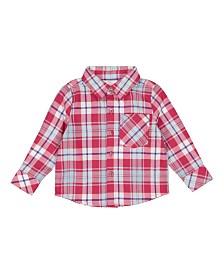 Masala Baby Boy Mason Shirt Plaid