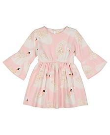 Masala Baby Girl Organic Simple Dress Swan Song