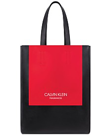 Receive a Complimentary Calvin Klein Tote Bag with any large spray purchase from the Calvin Klein Women's fragrance collection