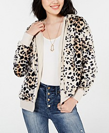 Juniors' Printed Zip-Up Jacket, Created for Macy's