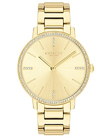Women's Audrey Gold-Tone Stainless Steel Bracelet Watch 35mm
