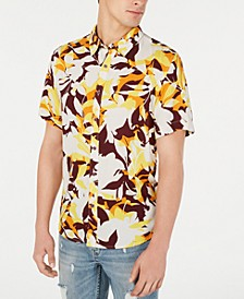 Men's Woodblock Floral Shirt