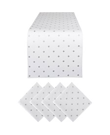 Design Imports Polka Dot Table Set of 5