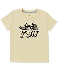 Volcom Toddler & Little Girls Smile-Print T-Shirt