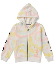 Volcom Toddler & Little Girls Tie-Dyed Fleece Hoodie