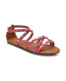 Olivia Miller Markle Sparkle Studded Sandals