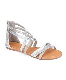 Stuart Glitter Rhinestone Sandals
