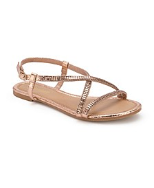 Treasure Multi Rhinestone Studded Sandals