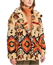 Free People Carmella Faux-Fur Coat
