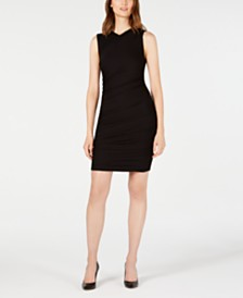 Elie Tahari Atara Double-Knit Bodycon Dress