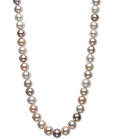 "Cultured Freshwater Pearl (9-1/2mm) Collar 18"" Necklace"