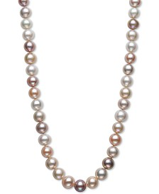 "Belle de Mer Cultured Freshwater Pearl (9-1/2mm) Collar 18"" Necklace"