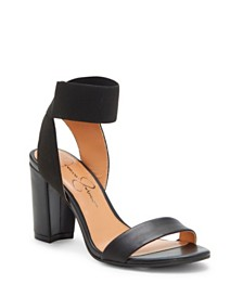 Jessica Simpson Siesto Block Heel Dress Sandals