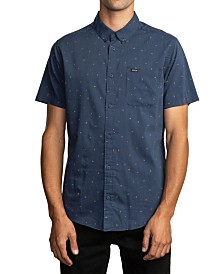 RVCA Men's Little Buds Short Sleeve Shirt