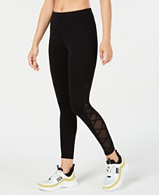 Calvin Klein Performance Crisscross-Side Leggings