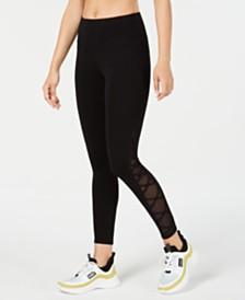 Calvin Klein Performance Crisscross-Side Leggings