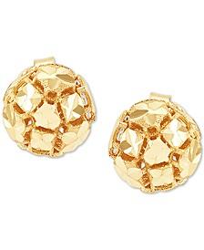 Effy Oro by EFFY® Hollow Bead Stud Earrings in 14k Gold
