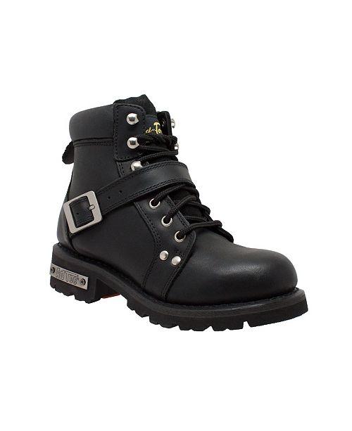 """Ride Tecs Ride Tec Women's 6"""" Lace Zipper Boot"""