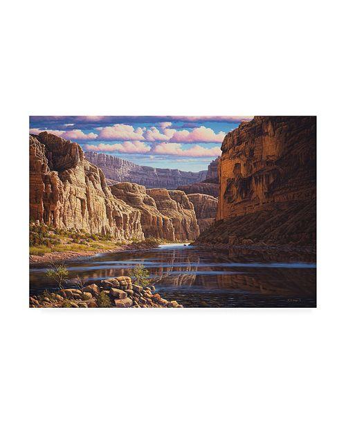 "Trademark Global R W Hedge Eternal Waters Canvas Art - 19.5"" x 26"""