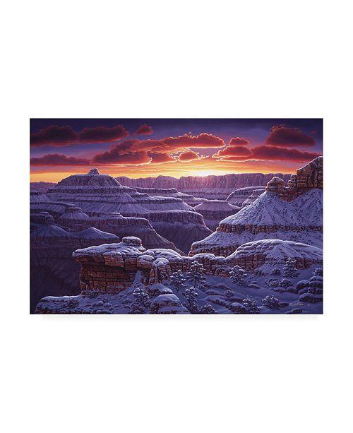 "Trademark Global R W Hedge Open Window Canyon Canvas Art - 19.5"" x 26"""