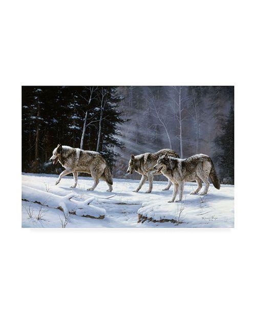 "Trademark Global R W Hedge Six Pack Minus Three Canvas Art - 15.5"" x 21"""