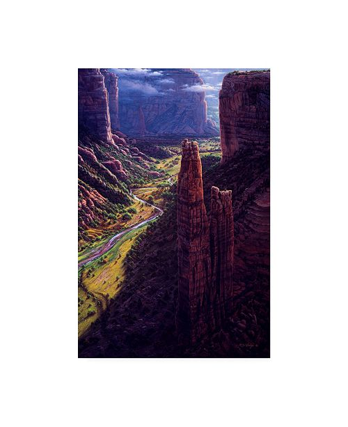 "Trademark Global R W Hedge Chasm of Dreams Canvas Art - 36.5"" x 48"""
