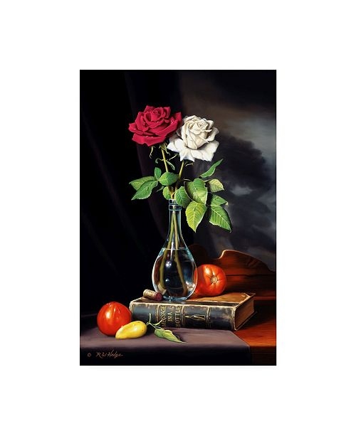 "Trademark Global R W Hedge Message in a Bottle Canvas Art - 27"" x 33.5"""