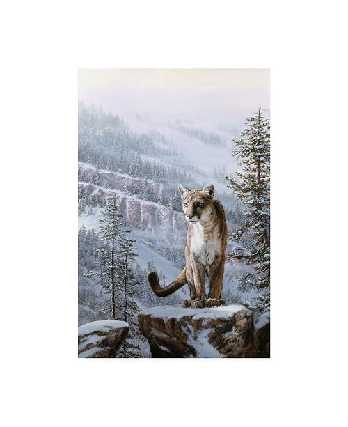 """Trademark Global R W Hedge Positive Traction Canvas Art - 19.5"""" x 26"""""""