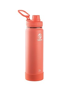 Takeya Actives 24 oz Insulated Stainless Steel Water Bottle with Spout Lid