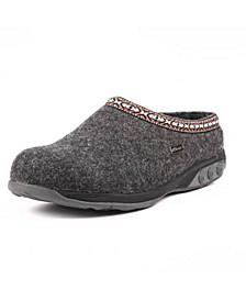 Shoe Heather Indoor/Outdoor Wool Clog Slipper