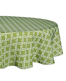 "Lattice Outdoor Tablecloth 60"" Round"