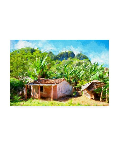 """Trademark Global Philippe Hugonnard Country House in the Forest Canvas Art - 27"""" x 33.5"""""""