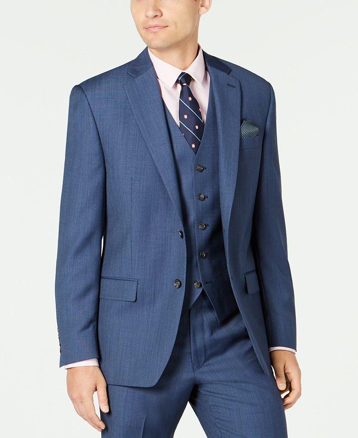 Lauren Ralph Lauren - Men's Classic-Fit UltraFlex Stretch Black Suit Jacket
