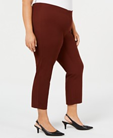 Alfani Plus Size Ankle Pants, Created for Macy's