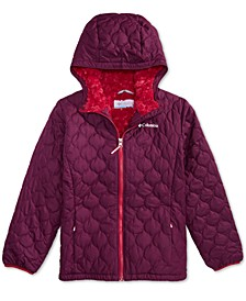 Big Girls Bella Hooded Plush-Lined Jacket
