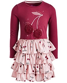 Toddler Girl Tiered Cherry Dress, Created for Macy's