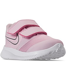 Toddler Girls Star Runner 2 Stay-Put Closure Running Sneakers from Finish Line