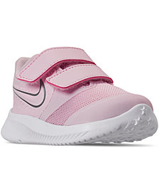 Nike Toddler Girls Star Runner 2 Stay-Put Closure Running Sneakers from Finish Line