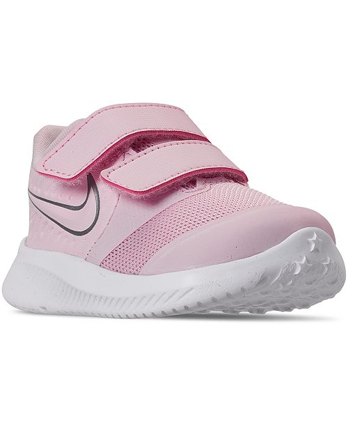 Nike Toddler Girls Star Runner 2 Stay-Put Closure Running Sneakers from Finish Line