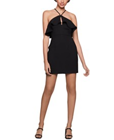 BCBGeneration Ruffled Sheath Dress
