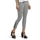 6e077e63412e33 Hue Summer Stripe Ultra Soft Denim Capri