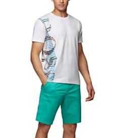 BOSS Men's Tee 9 Stretch-Cotton T-Shirt