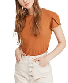 Free People Latte T-Shirt