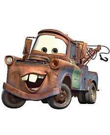 York Wallcoverings Cars - Mater Peel and Stick Giant Wall Decal