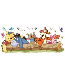 Winnie The Pooh - Pooh and Friends Outdoor Fun Peel and Stick Giant Wall Decals