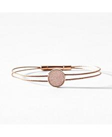 Women's Merete Stainless Steel Brilliant Mesh Cable Bracelet