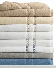 "Lenox Pearl Essence Cotton Bath Towel, 32"" x 58"""