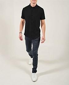 Short Sleeve Button Front Mindful Shirt